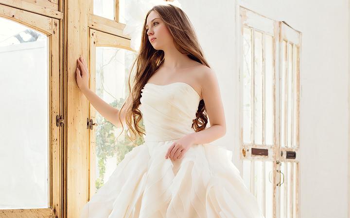 ウェディングドレス AN0100